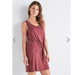 Lucky Brand Sandwash Tie Dress in size small